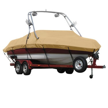 Sunbrella Boat Cover For Sanger Sangair With Tower Covers Swim Platform
