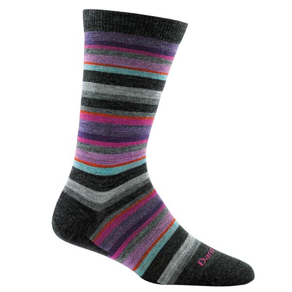 Darn Tough Women's Sassy Stripe Crew Sock