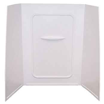 """24"""" x 40"""" x 58"""" Tile Surround - White"""