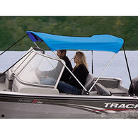 "Shademate Polyester 2-Bow Bimini Top, 5'6""L x 42""H, 73""-78"" Wide"