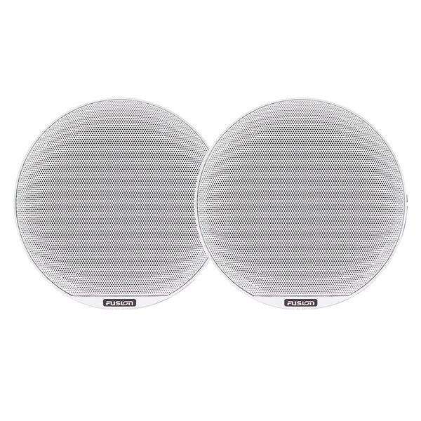 """FUSION Signature Series 3 - 8.8"""" Speakers - White Classic Grille"""