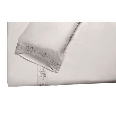 Microfiber Embroidered Sheet Set, Vintage RV Design