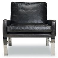 Lucas Leather Chair, Shalimar Grigio