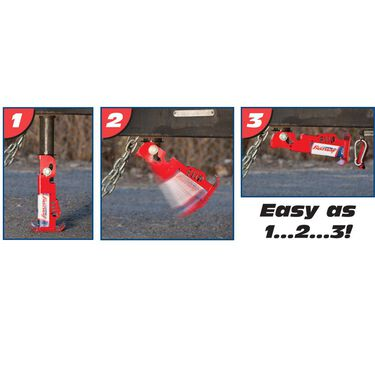 "Fastway Flip 6"" Automatic Jack Foot for 2 1/4"" Jack"