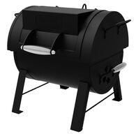 Dyna-Glo Portable Tabletop Charcoal Grill & Side Firebox