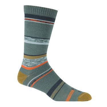 Farm To Feet Men's King Ultra-Light Stripe Crew Socks
