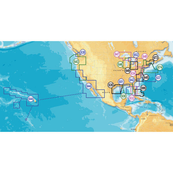 Navionics Platinum+ Map, East Gulf Of Mexico - SD Cartridge