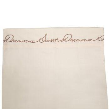 Sweet Dreams Microfiber RV Sheet Sets, King, Ivory