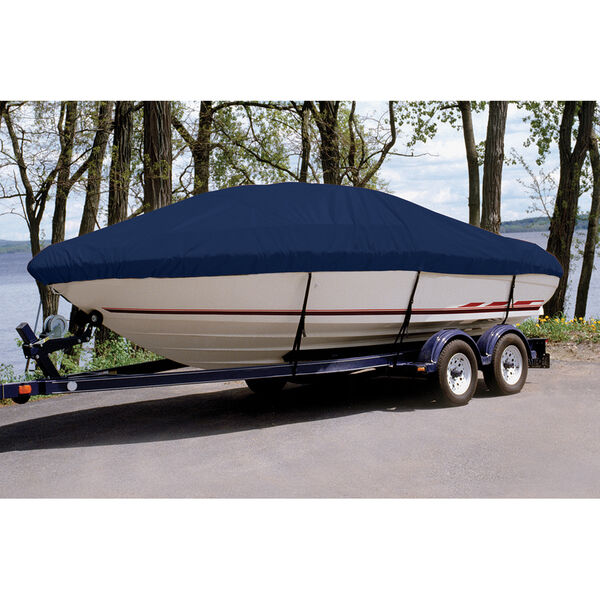 Ultima Solution Dyed Polyester Boat Cover For Larson 186 Senza Bow Rider