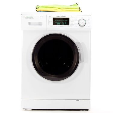 Equator 1.57 cu.ft. Compact Convertible Super Combo Washer with Venting/Condensing Drying, White