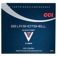 CCI Pest Control Rimfire Shotshell, .22 LR, 31-gr., #12