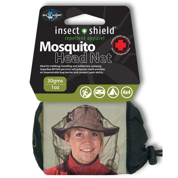 Sea to Summit Mosquito Head Net with Insect Shield