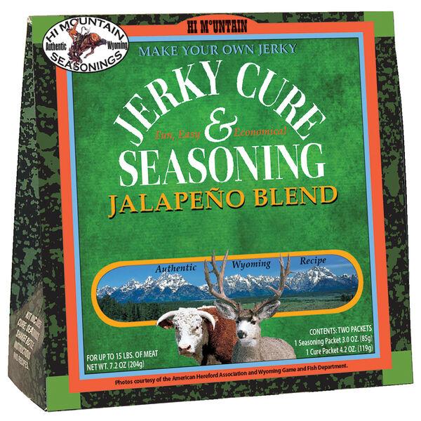 Hi Mountain Jerky Cure & Seasoning Blend, Jalapeno
