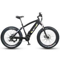 QuietKat 1000-IC Electric Fat-Tire Mountain Bike, Black