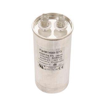 Capacitor, Fan/Run (45 Mfd, 370 VAC, 50-60 Hz)