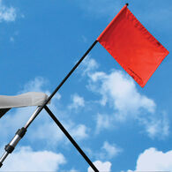 Watersports Flag Holder For Bimini Tops And Pylon Extensions