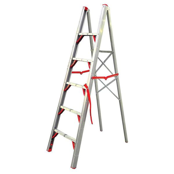 Telesteps 6' Single-Sided Aluminum Folding STIK Step Ladder