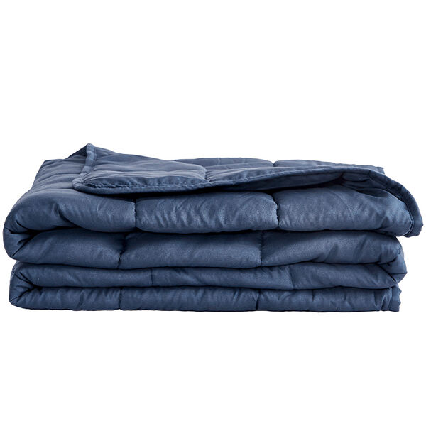 Sutton Home Fashions 12-lb. Weighted Blanket, Navy