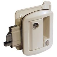 Global Classic Pro Trailer Lock, White