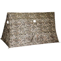 Heavy Hauler The HUB Helping U Blend Hub Blind, Mossy Oak Shadow Grass Blades