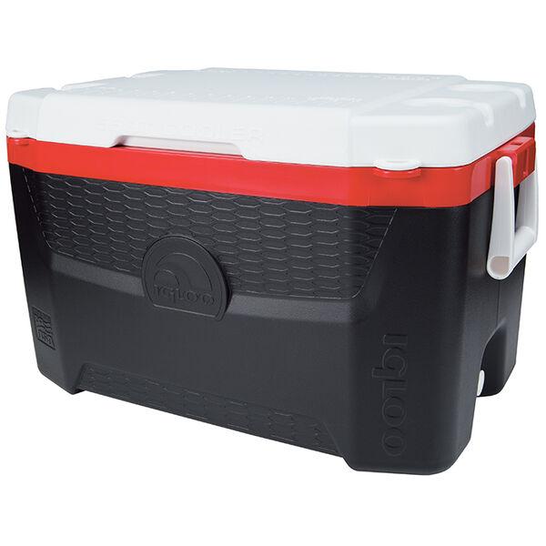 Igloo Quantum 55-Qt. Cooler, Black/Red
