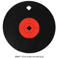 "Birchwood Casey World of Targets AR500 10"" Single Hole Gong"