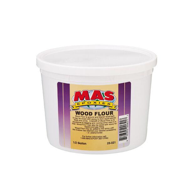 MAS Epoxies Wood Flour, Half Gallon