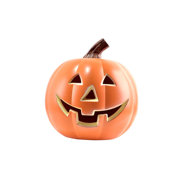 EpicXL Jack-O'-Lantern Pumpkin Bluetooth Speaker with Dancing Flames