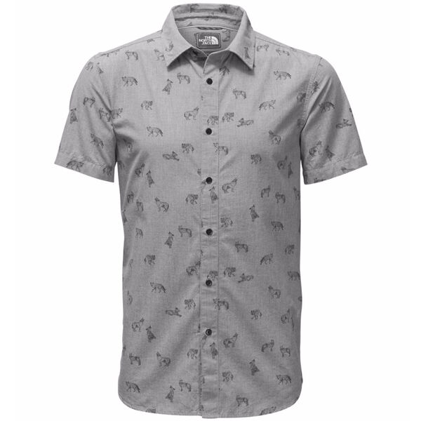 The North Face Men's Bay Trail Short-Sleeve Shirt - Coyote Print