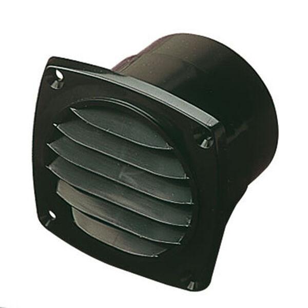 "Sea-Dog ABS Black Hose Thru-Vent, 3-11/16""L x 3-11/16""W x 2-7/16""D"