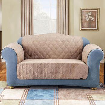 """Soft Suede Pet Sofa Throw - 70"""", Tan"""
