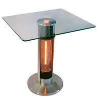 EnerG+ Infrared Electric 1500W Outdoor Heater Square Bistro Table
