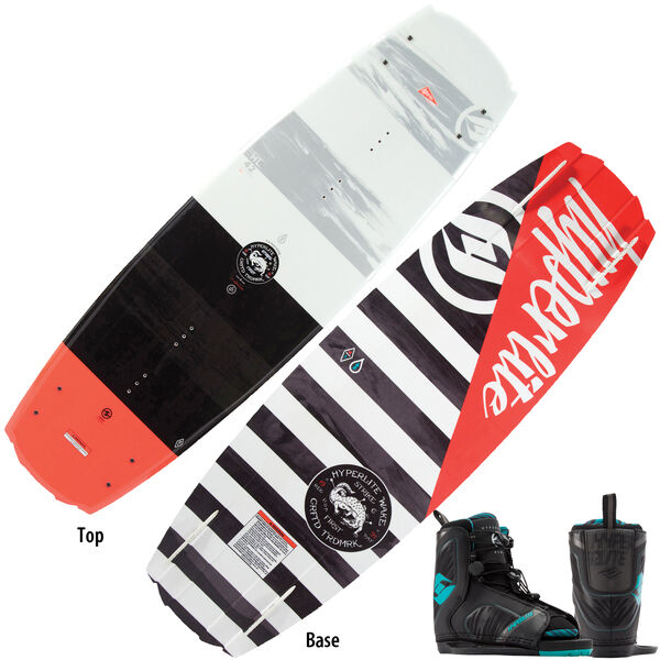 Hyperlite Franchise Wakeboard With Remix OT Bindings