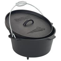 Bayou Classic®8-qt Cast Iron Dutch Oven With Feet