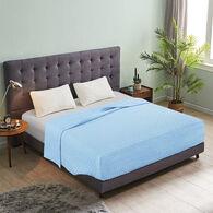 Bed Tite Quilted Queen/RV Queen Blanket, Blue