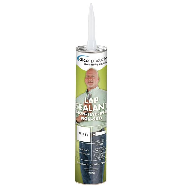 Dicor Non-Sag Lap Sealant - White