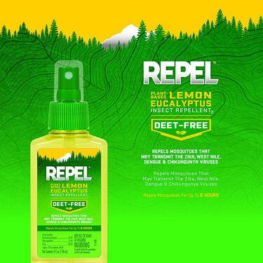 Repel Lemon Eucalyptus Insect Repellent, 4 oz.