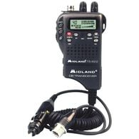 Midland Cb Hh, 40Ch, Wx/Hzd Mon. & 12V Adp