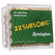 Remington Subsonic Rimfire Ammo, .22 LR, 38-gr., HP