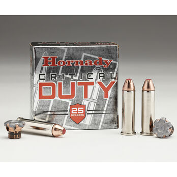 Hornady Critical Duty Ammo, 9mm, 135-gr., FlexLock, 25 Rounds