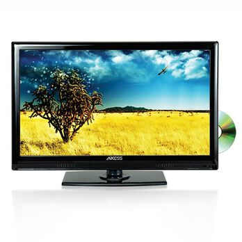 13.3'' Widescreen HD LED TV/DVD