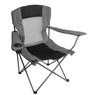 Mesh Quad Chair, Grey