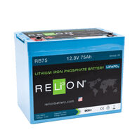 RELiON 12V 75Ah Lithium Battery