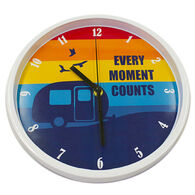 """Every Moment Counts"" Wall Clock"