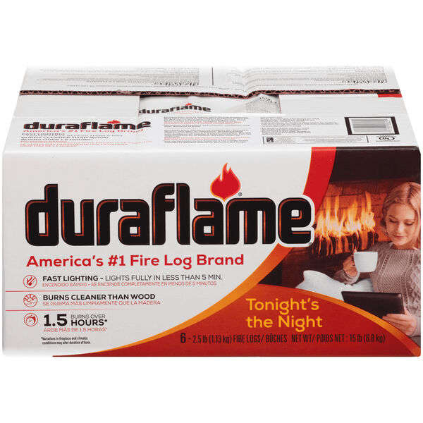 Duraflame 2.5 lb. Fire Log, 6 Pack
