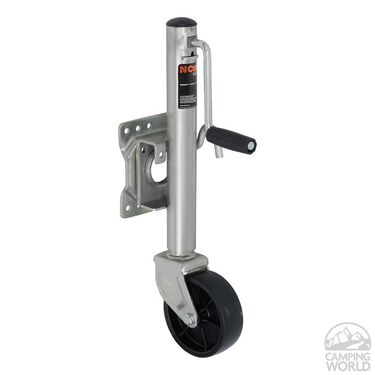 "CURT Marine Jack, 1,000 lbs. wt. capacity, 10"" travel, 6"" dia. wheel"