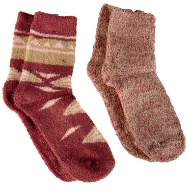 Fire + Ash Women's Marl Feather Sock with Aloe Vera
