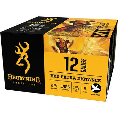 "Browning BXD Upland Extra-Distance Shotshells, 12-ga., 2-3/4"", 1-3/8 oz., #5"