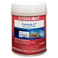Evercoat Marine Formula 27 All Purpose Filler, Quart