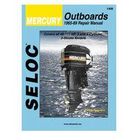 Seloc Marine Outboard Repair Manual for Mercury '65 - '89, 40-115 hp